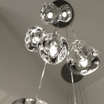 Shown in Clear, lit, in use
