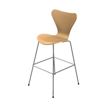 Series 7 Bar Stool - Natural Veneer