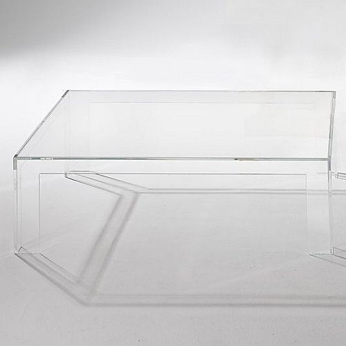 Invisible Coffee Table By Kartell At Lumenscom - Kartell invisible coffee table