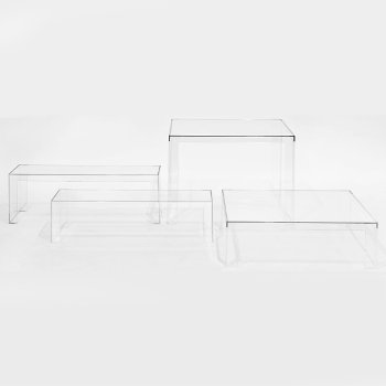 With Invisible Table and Side Table (sold separately)