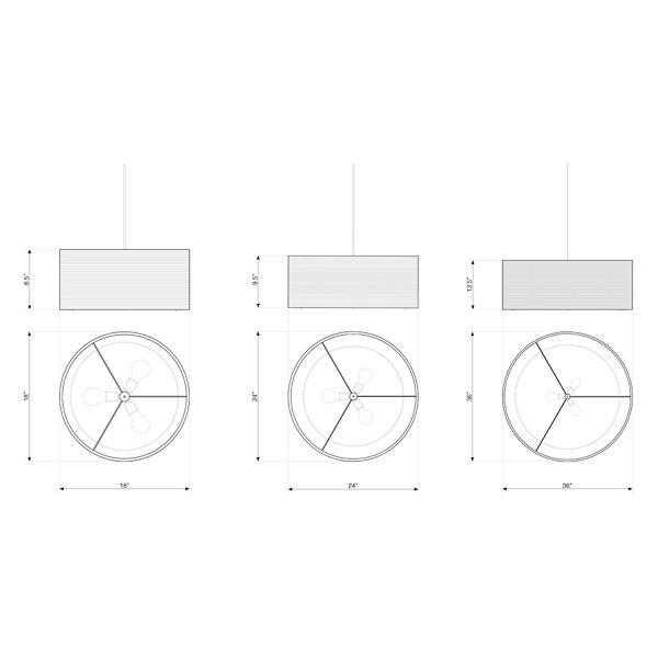 Drum Scraplight Pendant