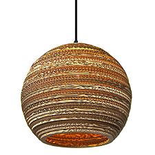 Moon Scraplight Pendant Light