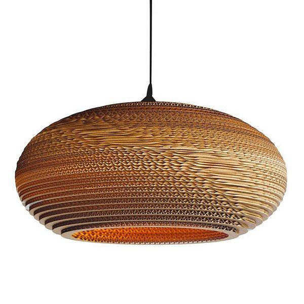 Disc Scraplight Pendant