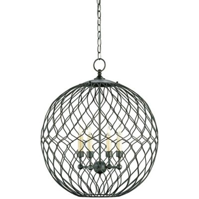 uu455278 simpatico orb chandelier by currey and company at lumens com on kichler under cabinet lighting wiring diagram