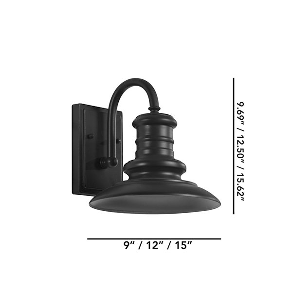 Redding Station Outdoor Wall Sconce