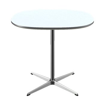 Super-Circular Pedestal Base Table