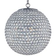 Crystal Globe Chandeliers