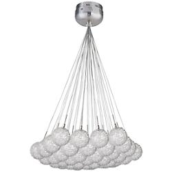 Starburst Globe 37-Light Pendant