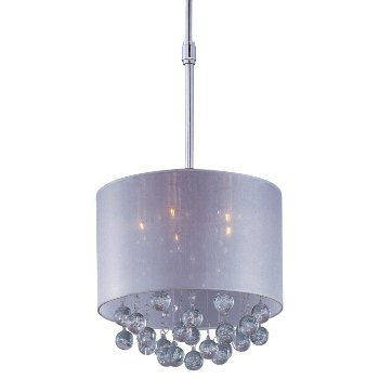 Shown in Polished Chrome finish, Silver Sheer