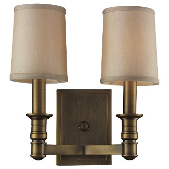 Baxter 2-Light Wall Sconce
