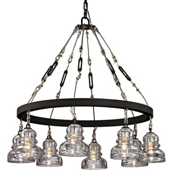 Shown in Deep Bronze finish, 8 Light