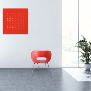 Shown in Red Pepper Powder Coated Steel, English