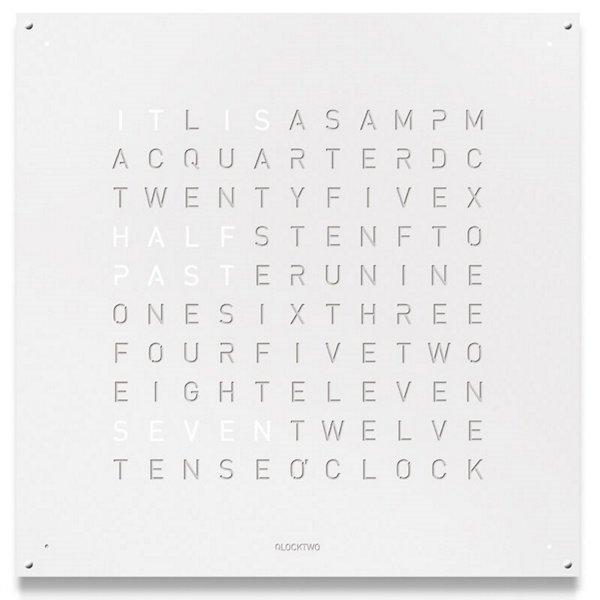 QLOCKTWO LARGE Wall Clock