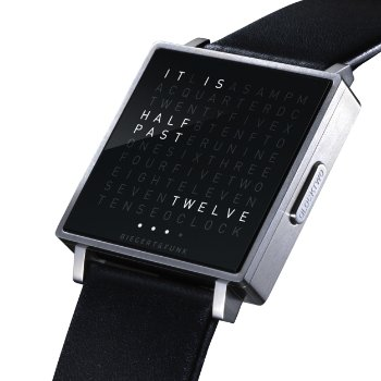 Shown in Brushed Stainless Steel, English