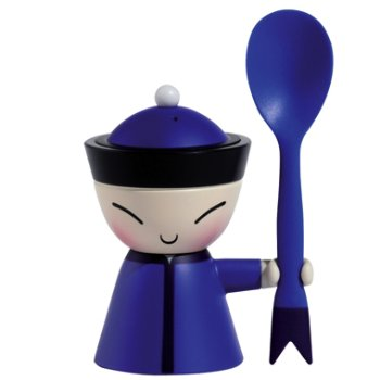 Mr. Chin Egg Cup (Blue) - OPEN BOX RETURN