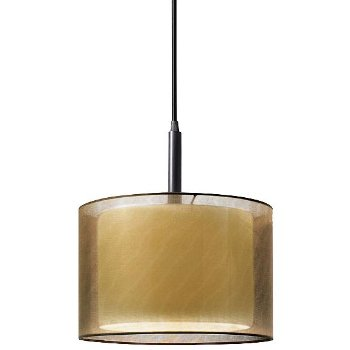 Puri 6008 Drum Pendant (Black Brass/Bronze) - OPEN BOX RETURN