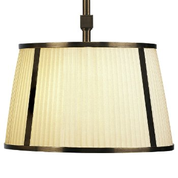 Chase 16 Inch Single Pendant with Framed Shade - OPEN BOX RETURN