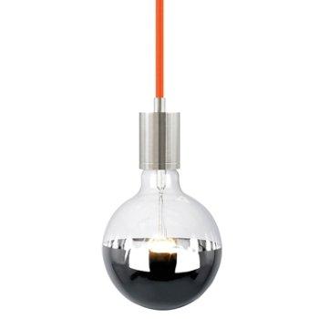 Shown in Orange cord, Satin Nickel finish