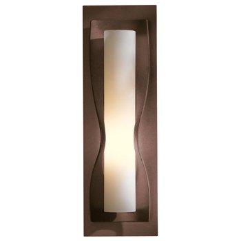 Shown in Opal glass shade, Bronze finish
