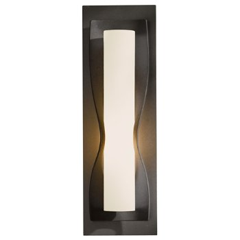Shown in Pearl glass shade, Burnished Steel finish