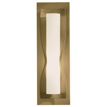 Shown in Pearl glass shade, Gold finish