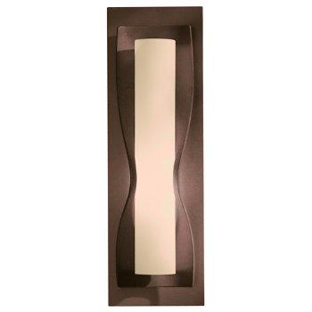 Shown in Stone glass shade, Bronze finish