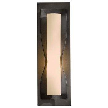 Shown in Stone glass shade, Burnished Steel finish