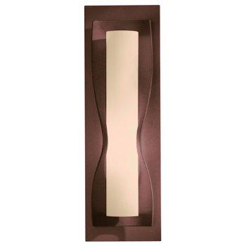 Shown in Stone glass shade, Mahogany finish