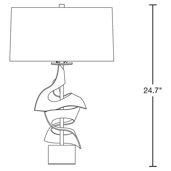 Gallery 273050 Twofold Table Lamp
