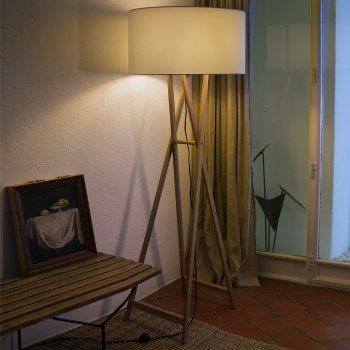 Cala Floor Lamp, in use
