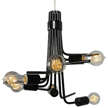 lumens me socket chandelier to at by varaluz com