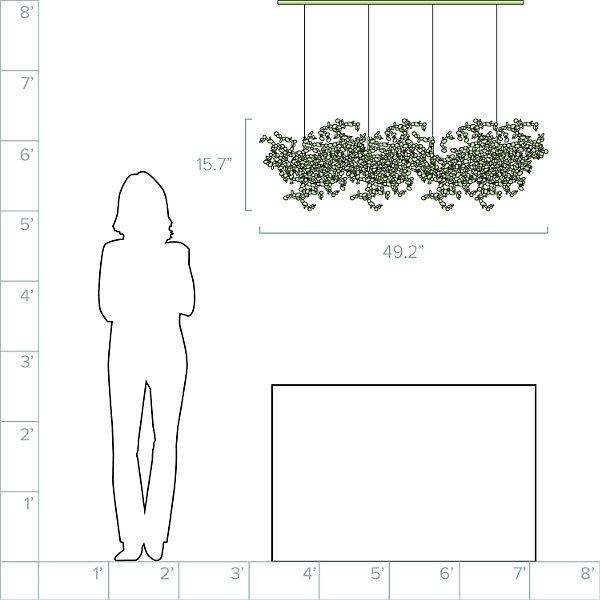 Argent Linear Suspension
