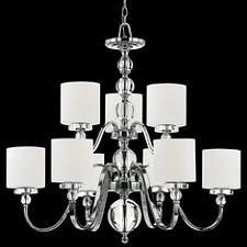 Downtown 2-Tier Chandelier