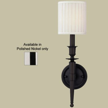 Abington Wall Sconce (Polished Nickel) - OPEN BOX RETURN