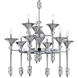 Cannello 2-Tier Chandelier