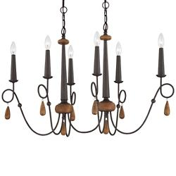 Corso Oval Chandelier