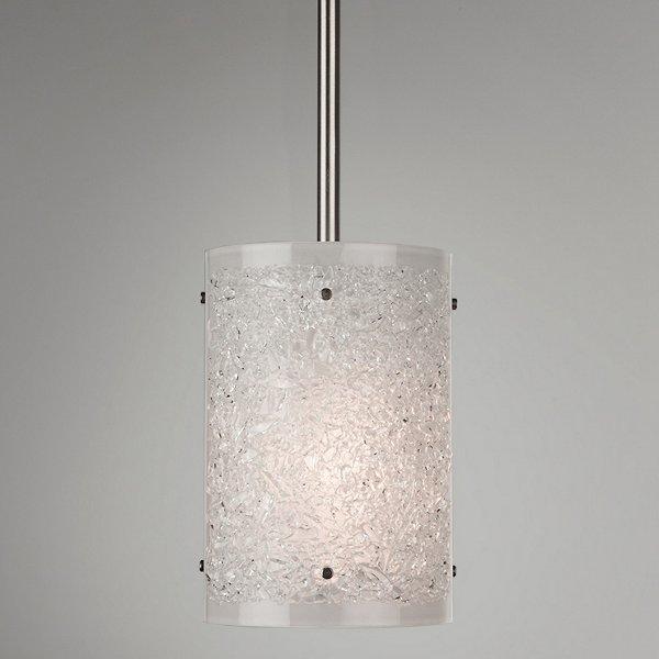 Textured Glass Mini Pendant