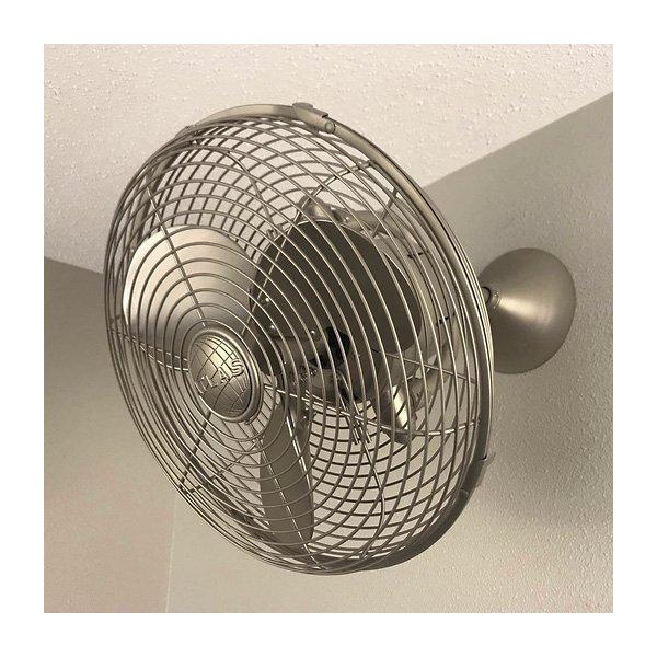 Kaye Oscillating Wall/Ceiling Fan