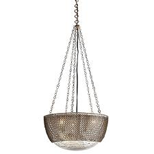 Chainmail Bowl Pendant Light