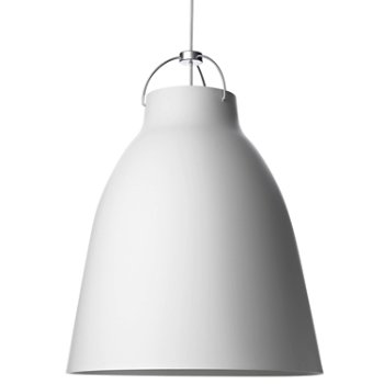Shown in Matte White finish, Extra Large