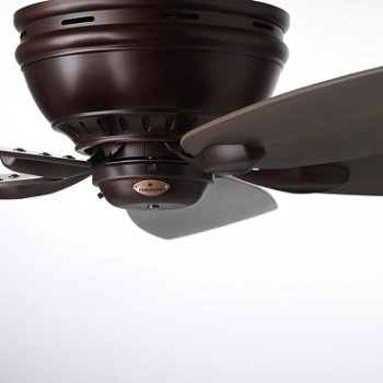 Shown with Venetian Bronze finish and Walnut blades