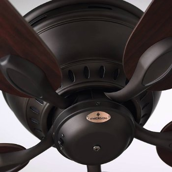 Shown with Oil Rubbed Bronze finish and Dark Cherry blades
