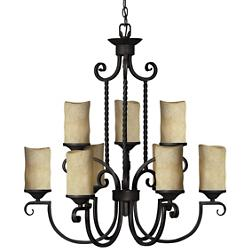 Casa Two-Tier Chandelier