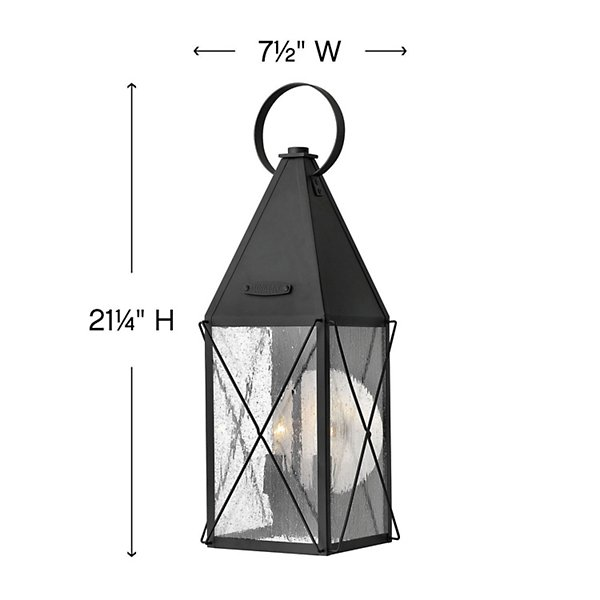 York Outdoor Wall Sconce