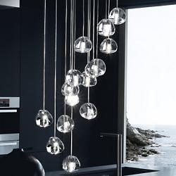 Mizu 15-Light Pendant