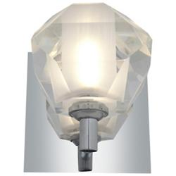 Glasie Diamond Crystal Wall Sconce