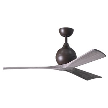 Shown in Textured Bronze finish, Barnwood Blades, 52 inch