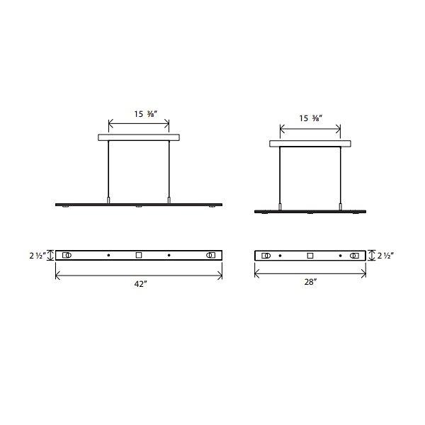 Brevis LED Linear Pendant