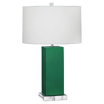 Shown in Emerald Green, Large size