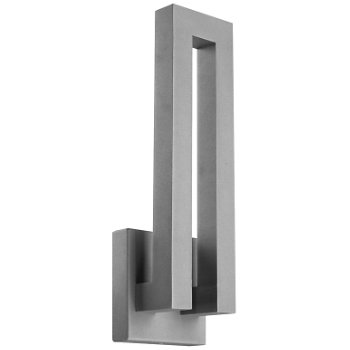 Forq indooroutdoor led wall sconce by modern forms at lumens forq indooroutdoor led wall sconce aloadofball Choice Image